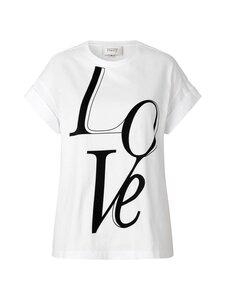 SECOND FEMALE - Love Tee -paita - 1001 WHITE | Stockmann