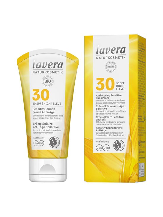 Lavera - Sensitive Face Sun Cream Anti-Age SPF 30 -aurinkovoide kasvoille - NOCOL | Stockmann - photo 1