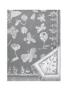 Lapuan Kankurit - Aamos-pöytäliina/peitto 140 x 240 cm - WHITE-GREY | Stockmann