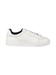 GANT - Mc Julien -nahkasneakerit - G290 BRIGHT WHITE | Stockmann