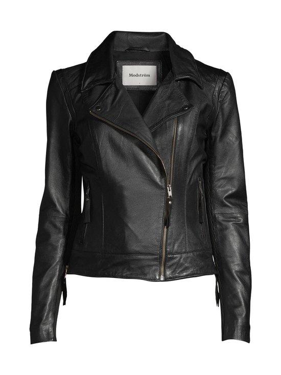 Modström - Iman Leather Jacket -nahkatakki - 07090 BLACK | Stockmann - photo 1