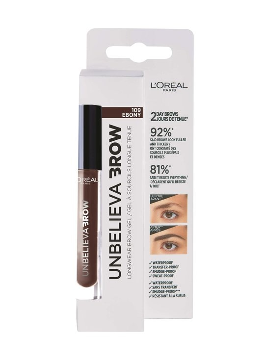 L'Oréal Paris - Unbelieva Brow -kulmaväri - 109 EBONY | Stockmann - photo 2