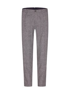 Tommy Hilfiger Tailored - Check Slim Pant -housut - 0GU BLACK/ECRU MELANGE | Stockmann