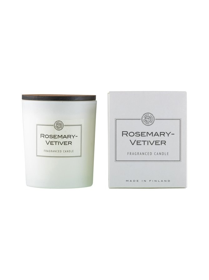 Rosemary-Vetiver-tuoksukynttilä
