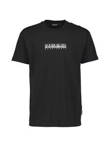Napapijri - S-Box SS T-shirt -paita - BLACK | Stockmann