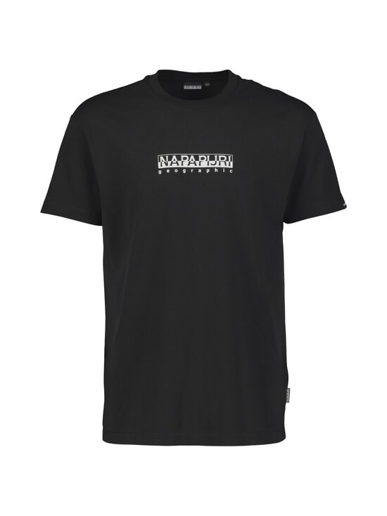 Napapijri - S-Box SS T-shirt -paita - BLACK | Stockmann - photo 1