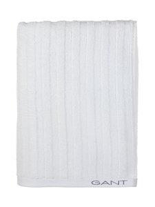 Gant Home - Organic Line -pyyhe 70 x 140 cm - 110 WHITE | Stockmann