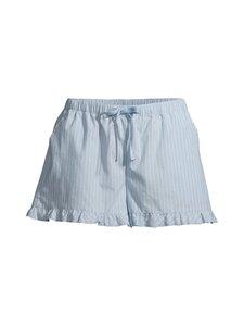 NOOM loungewear - Inari-pyjamashortsit - LT.BLUE/WHITE STIRPE | Stockmann