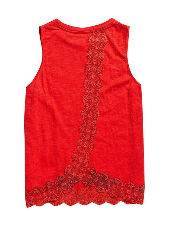 Superdry - Lace Mix Vest -pusero - QNF HIBISCUS | Stockmann - photo 2