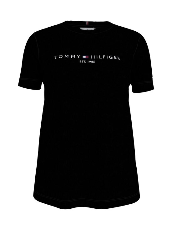 Tommy Hilfiger - TH Essentials Reg Tee -paita - BLACK BDS | Stockmann - photo 1