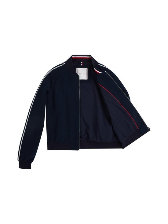 Tommy Hilfiger - Tommy Icons Signature Sleeve Bomber -takki - DW5 DESERT SKY | Stockmann - photo 3