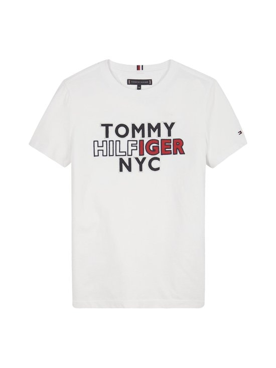 Tommy Hilfiger - NYC Graphic Tee -paita - YBR WHITE | Stockmann - photo 1