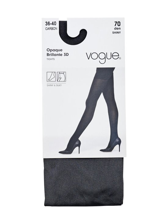 Vogue - Opaque brillante 70 den -sukkahousut - CARBON | Stockmann - photo 1
