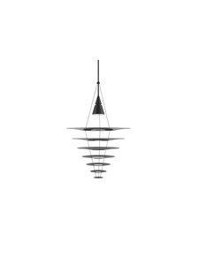 Louis Poulsen - Enigma 825 -riippuvalaisin - BLACK | Stockmann