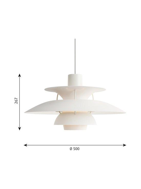 Louis Poulsen - PH 5 -riippuvalaisin 500 x 267 mm - MONOCHROME WHITE | Stockmann - photo 2