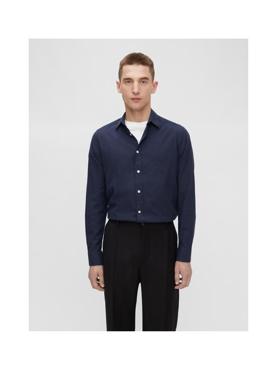 J.Lindeberg - Light Flannel Slim Shirt -flanellipaita - 6855 JL NAVY | Stockmann - photo 3