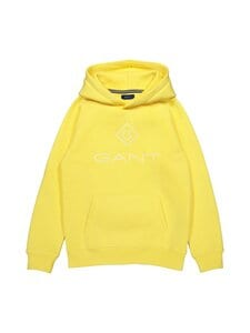 GANT - Lock-Up Sweat Hoodie -huppari - 749 BRIMSTONE YELLOW | Stockmann