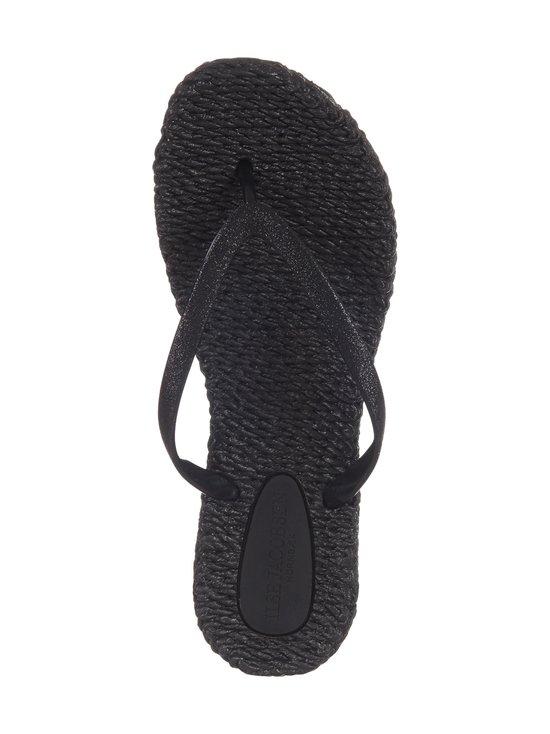 ILSE JACOBSEN - Flip-Flops With Glitter -sandaalit - 001 BLACK | Stockmann - photo 2