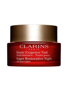 Clarins - Super Restorative Night Cream For All Skin Types -yövoide 50 ml - null | Stockmann