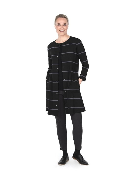 Ritva Falla - Caserta-jakku - 009S BLACK STRIPE | Stockmann - photo 1