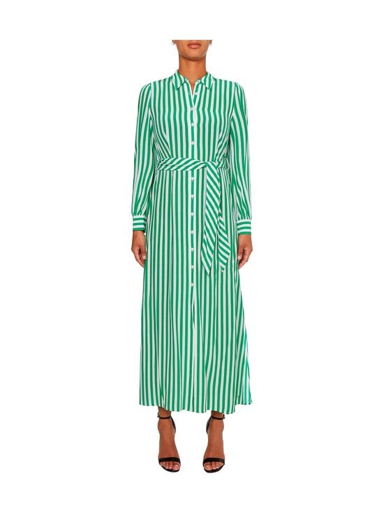 Tommy Hilfiger - LONG SHIRT DRESS -mekko - 0CJ BANKER STP / PRIMARY GREEN   Stockmann - photo 3