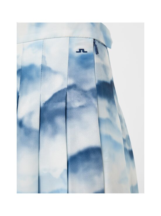 J.Lindeberg - Adina Printed Golf Skirt -hame - O416 CLOUD MIDNIGHT SUMMER BLUE | Stockmann - photo 6