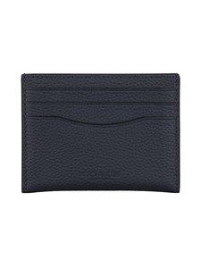 Coach - Card Case With Signature Canvas Interior -korttikotelo - MIDNIGHT/CHARCOAL | Stockmann