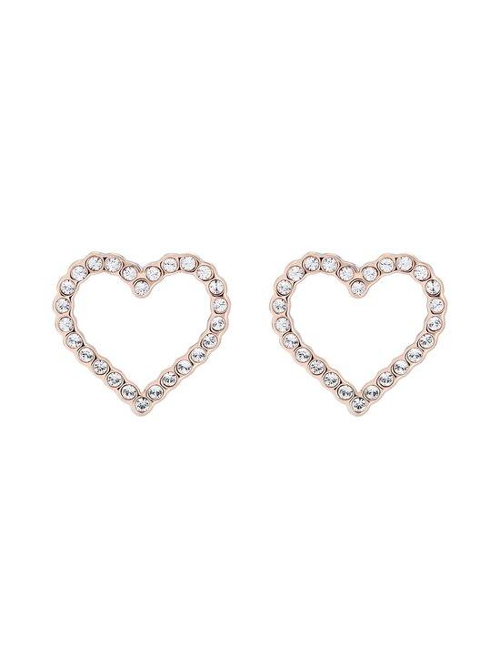 Ted Baker London - Larahh Crystal Heart Stud Earring -korvakorut - ROSE GOLD, CRYSTAL   Stockmann - photo 1