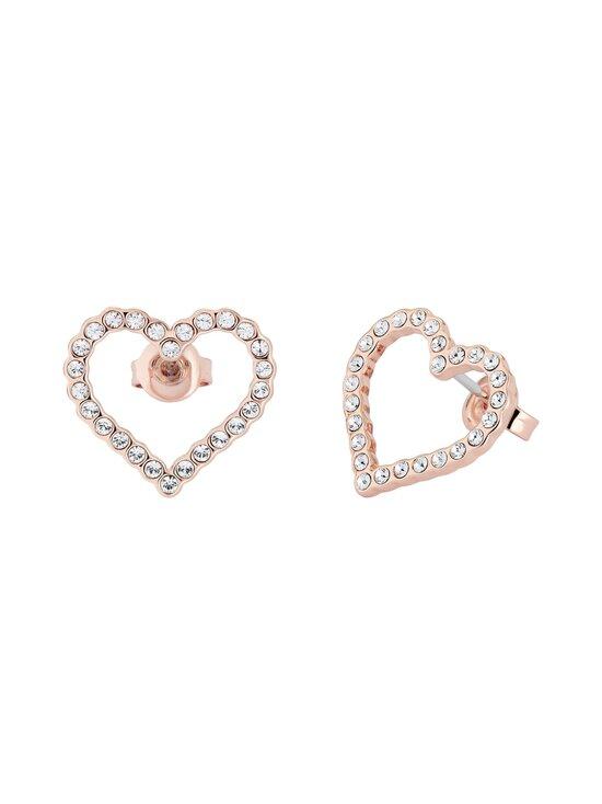 Ted Baker London - Larahh Crystal Heart Stud Earring -korvakorut - ROSE GOLD, CRYSTAL   Stockmann - photo 2