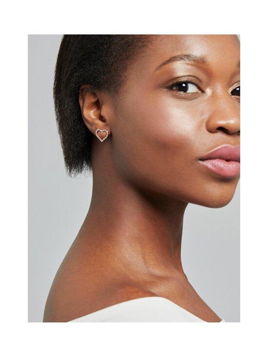 Ted Baker London - Larahh Crystal Heart Stud Earring -korvakorut - ROSE GOLD, CRYSTAL   Stockmann - photo 3