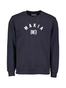 Makia - Brand Sweatshirt -collegepaita - 661 DARK BLUE | Stockmann