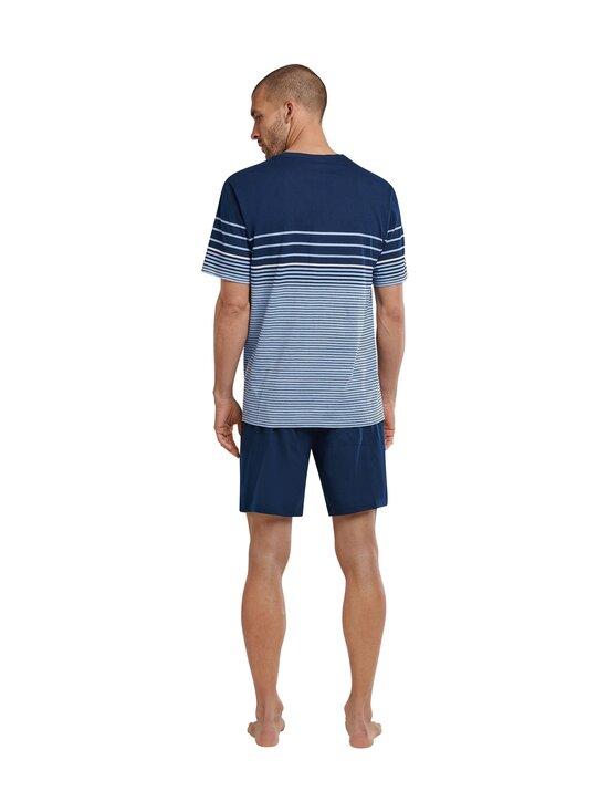 Schiesser - Selected! Premium Inspiration -shortsipyjama - 805 LIGHT BLUE   Stockmann - photo 2
