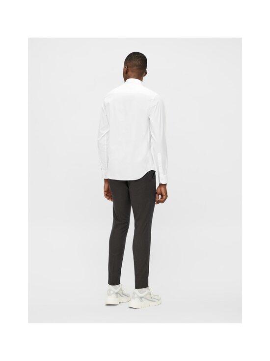 J.Lindeberg - Stretch Oxford Slim Shirt -kauluspaita - 0000 WHITE   Stockmann - photo 4