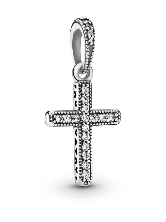 Cross Silver -kaulakoru