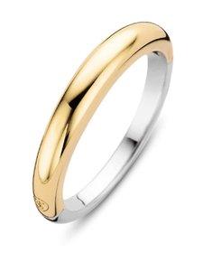 Ti Sento - Sormus - SILVER YELLOW GOLD PLATED | Stockmann