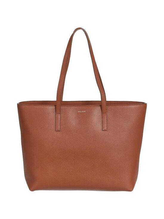 Balmuir - Estelle Shopper With Zipper -nahkalaukku - 480 COGNAC | Stockmann - photo 1