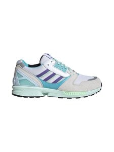 adidas Originals - ZX 8000 -sneakerit - CLOUD WHITE/PURPLE/LIGHT AQUA | Stockmann