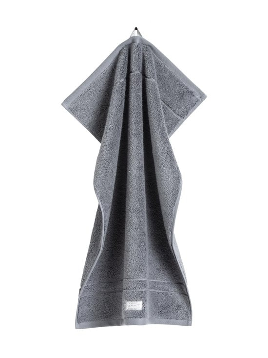 Gant Home - Organic Premium -pyyhe 50 x 70 cm - 161 ELEPHANT GREY | Stockmann - photo 1