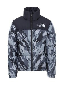 The North Face - Y 1996 Retro Nuptse -untuvatakki - TT31 MELDGREYMOUNTAINCAMOPRINT | Stockmann