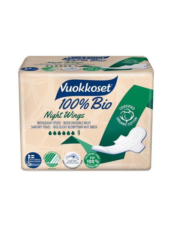 Vuokkoset - 100 % Bio Night Wings -yöside 9 kpl - NOCOL | Stockmann - photo 1