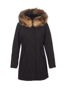 Beaumont - Parka W Real Fur -toppatakki - 199 BLACK   Stockmann