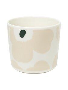 Marimekko - Oiva/Unikko-kahvikuppi 2 dl, 2 kpl - 186 WHITE, BEIGE, DARK GREEN | Stockmann