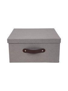 Bigso Box - Austin-säilytyslaatikko - TUMMANHARMAA | Stockmann