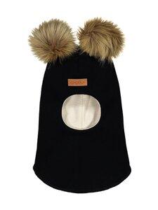 Gugguu - Furry Balaclava -kypärämyssy - BLACK | Stockmann