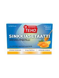 Bioteekki - TEHO Sinkkiasetaatti -imeskelypastilli 24 kpl/60 g - null | Stockmann