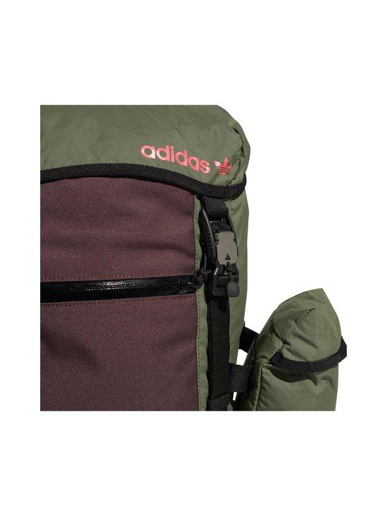 adidas Originals - Adventure Toploader -reppu - MINERAL RED/REAL PINK | Stockmann - photo 7