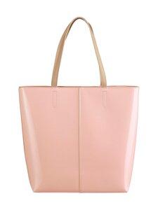 A+more - Megan Patent Shopper -laukku - NUDE PINK | Stockmann