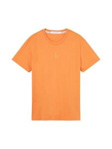 Calvin Klein Jeans - SLICED BACK GRAPHIC -paita - SEK RUSTY ORANGE   Stockmann