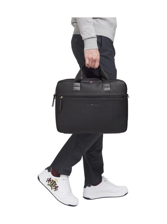 Tommy Hilfiger - Essential Computer Bag -laukku - BDS BLACK | Stockmann - photo 4