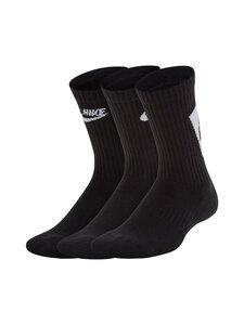 Nike - Everyday Cushioned -sukat 3-pack - 010 BLACK/WHITE | Stockmann